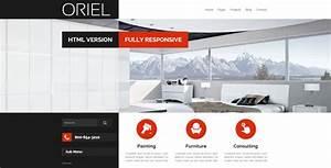 ORIEL Responsive Interior Design HTML5 Template By