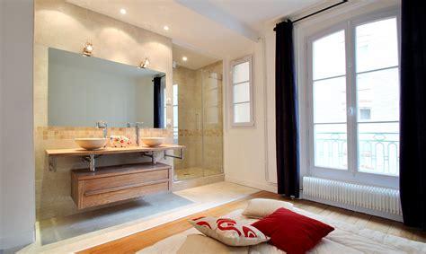martin sur la chambre davaus idee salle de bain ouverte sur chambre avec