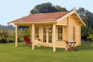 Garten überdachung Holz : gartenhaus skanholz calgary mit gro er berdachung ~ Articles-book.com Haus und Dekorationen