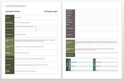 event template 21 free event planning templates smartsheet