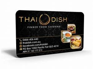 Catering business cards design ideas theveliger for Caterers business cards