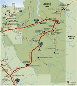Kakadu National Park Map