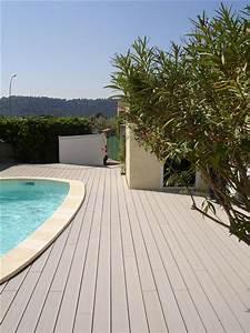 Tour De Piscine Bois : tour de piscine en bois composite realis coudoux ~ Premium-room.com Idées de Décoration