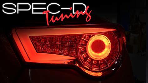 2015 brz tail lights specdtuning demo video 2012 2015 scion frs fr s 86 brz