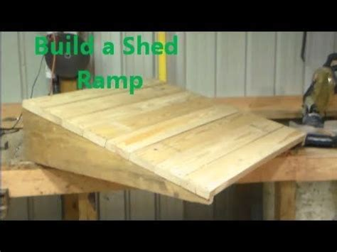 ideas  ramp  shed  pinterest bicycle