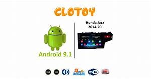 Clotoy Android Music System For Honda Jaaz  2015