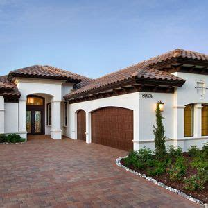miami mediterranean house colors exterior with clay tile
