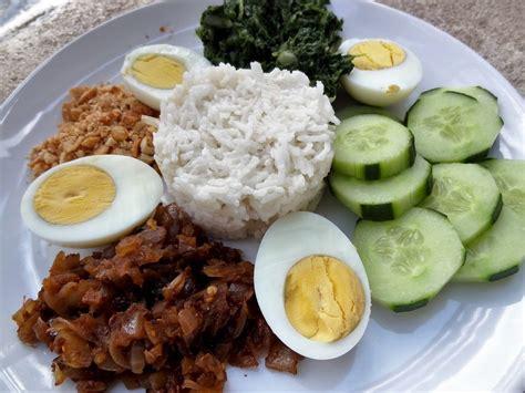 recette cuisine malaisienne riz à la noix de coco nasi lemak malaisie la