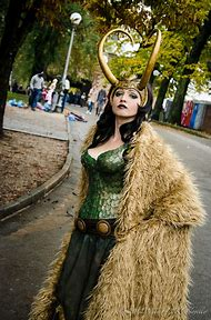 Lady Loki Female Cosplay