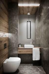 salle de bains moderne effet beton cire avec vasque carree With salle de bain design avec décoration bureau professionnel design