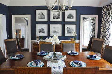navy blue dining rooms modern dining room design ideas
