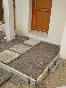 comment faire un coffrage en bois pour beton myqtocom With comment faire une dalle de beton pour terrasse