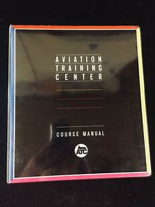 Aviation Training Center Course Manual  Instrument Rating