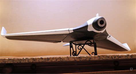parrots disco drone takes flight   fixed wing ultralight
