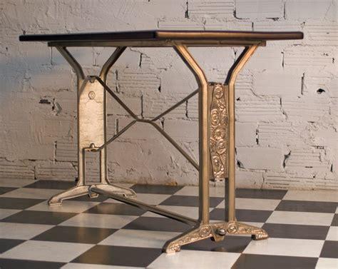 table cuisine bistrot table déco vintage rétro ancienne bistrot salle
