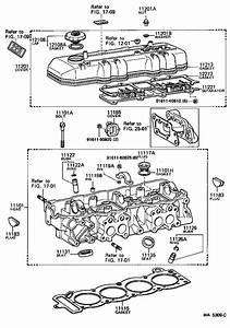 Toyota Celica Bolt For Cylinder Head Set   Engine