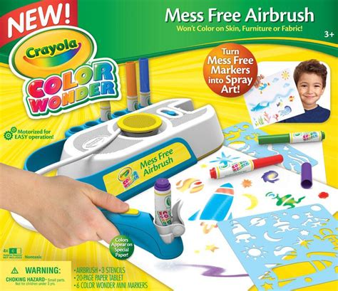 Amazon com: Crayola Color Wonder Mess Free Airbrush: Toys