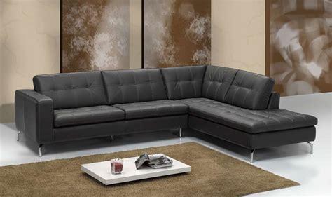 canap駸 italiens cuir canap d 39 angle cuir italien noir sofamobili