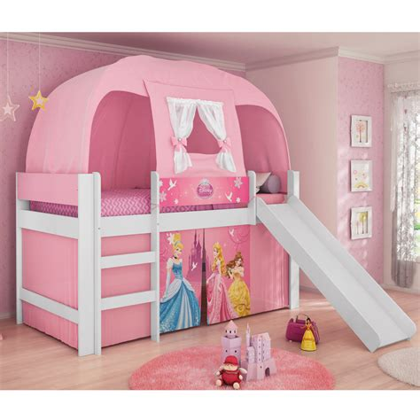 cortinas de princesas cama infantil princesas disney play c escorregador