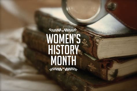 womens history month celebrated