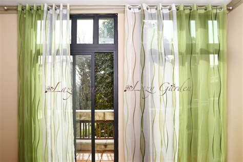 free shipping european style eyelet voile window curtains