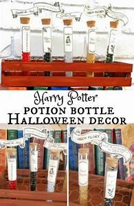 Halloween: Harry Potter Printable Potion Bottles - See
