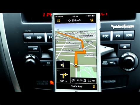 gps for iphone iphone 6 plus navigon gps app for the apple smartphones