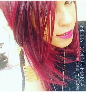 Acheter Coloration Rouge Framboise : couleur cheveux rouge cerise coiffure homme teinture rouge 1001 looks r ussis pour des cheveux ~ Melissatoandfro.com Idées de Décoration