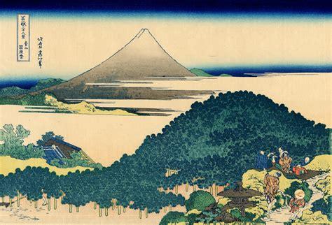trente six vues du mont fuji 青山円座松 36 vues du mont fuji