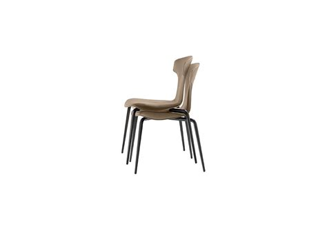 Montera Stackable Chair Poltrona Frau