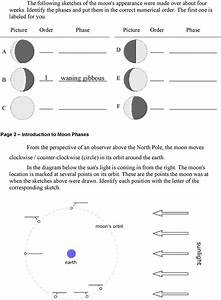 Moon Phases Worksheet Answers Student Guide To The Lunar