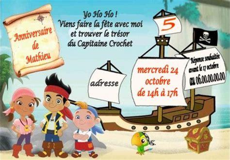 Bateau Mouche Gratuit Pour Anniversaire by Carte D Invitation Anniversaire Pirate Nanaryuliaortega Site