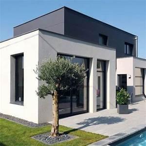 une maison moderne pratique et ecologique avec piscine With plan de maison 150m2 1 montage en une journee dune maison ossature