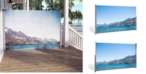 Mit Fotodruck by Seitenmarkise Mit Fotodruck Berge Serie Vision Transluzent