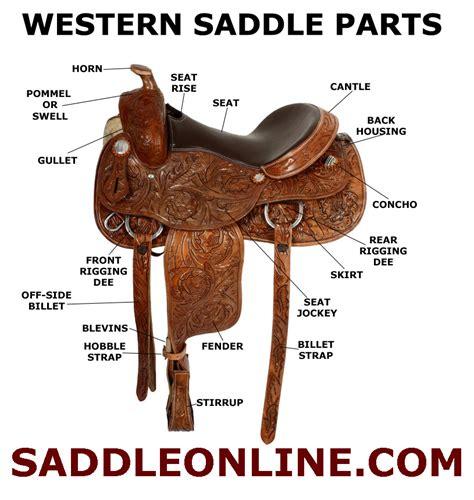 saddle western parts horse riding saddles tack different english styles vs cantle types barrel anatomy saddleonline australian pommel horn lesson