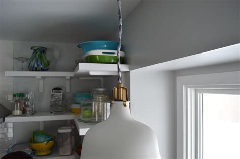 over the sink lighting ikea a pretty pendant loving here