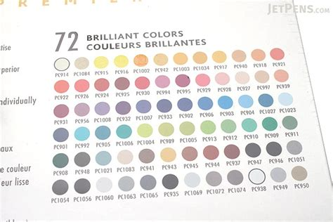 premier color prismacolor premier color pencil 72 color tin set