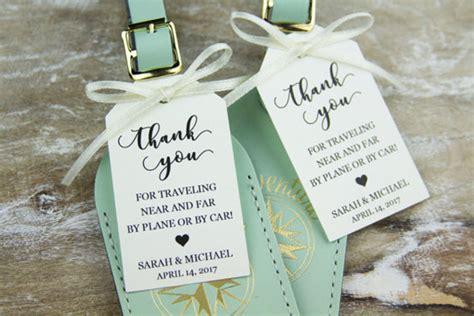 Creative Wedding Favors For Your Destination Wedding