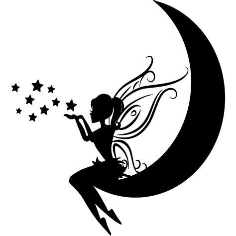 carreaux muraux cuisine sticker rendez vous entre la fée et la lune stickers filles fées ambiance sticker