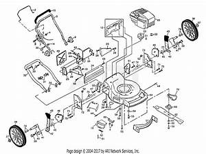 Poulan P2260a Mower Parts Diagram For Rotory Lawn Mower