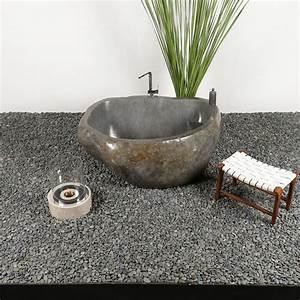 Badewanne Freistehend Für Garten : naturstein badewanne poliert 154x110x65 cm bei wohnfreuden kaufen ~ Markanthonyermac.com Haus und Dekorationen