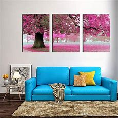 Canvas Print Wall Art Painting For Home Decor Purple