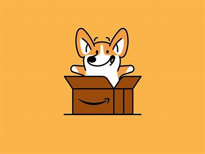 Corgi Animation Dog Line Dribbble Gifs Medium