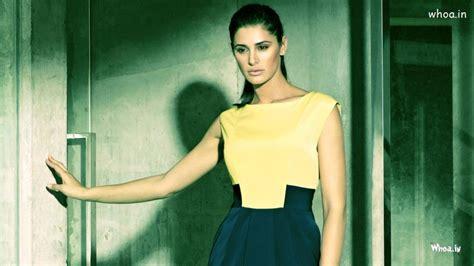 nargis fakhri yellow top photoshoot wallpaper