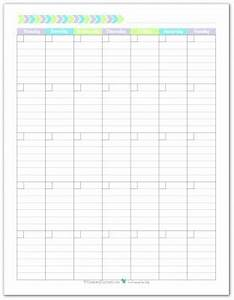 month at a glance blank calendar template - blank monthly calendar monthly calendars and calendar