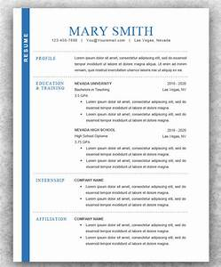 Modern Resume Templates 46 Free PSD Word PDF Document