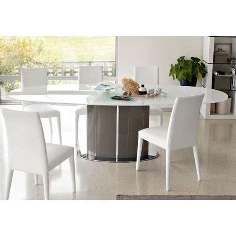 Table Ovale Extensible Tables Repas Tables Et Chaises Calligaris Table Repas Ovale Extensible Odyssey 165x105 En