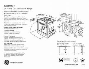 Ge Profile Pgs975depbb Manuals