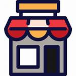 Market Icon Icons Transparent Business Shopping Svg