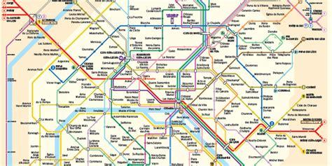 Ratp Plan Metro Paris